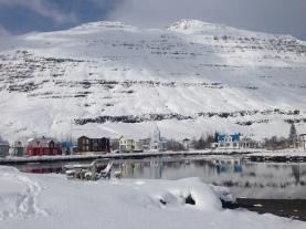 Seyðisfjörður - at the Lagoon. Photo by AB.