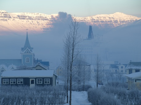 Seyðisfjörður - Author unknown