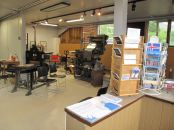 Few of the printing machines