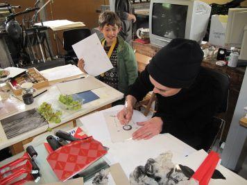 A book making workshop