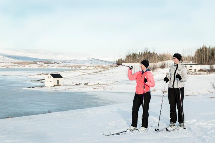 Cross country skiing in Egilsstaðir - GLHE