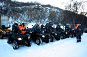 ATV's in the forest - EHL