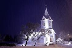 Seyðisfjörður church - photo Ómar Boga
