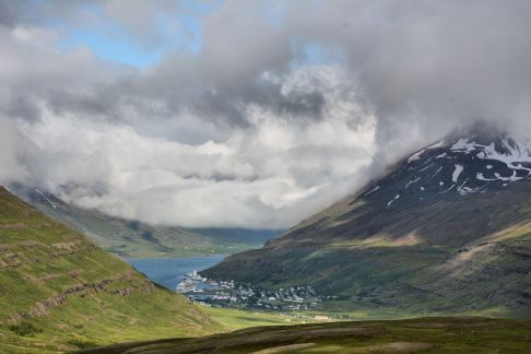 Seyðisfjörður - Photo. Ómar Bogason