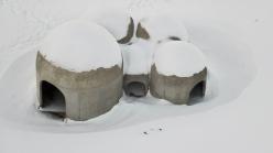Tvísöngur sound sculpture in Seyðisfjörður - photo Ola M